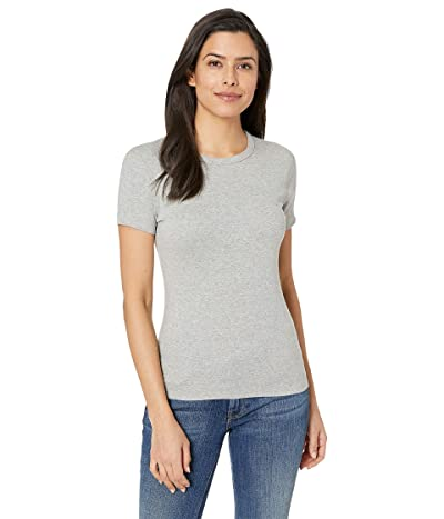 Three Dots 100% Cotton Heritage Knit Short Sleeve Crew