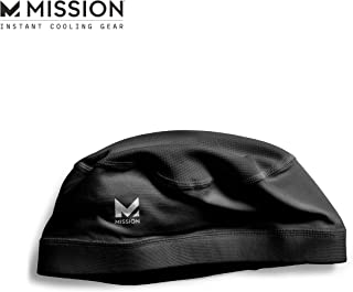 Mission Cooling Skull Cap- Hat, Helmet Liner, Running Beanie, Evaporative Cool..