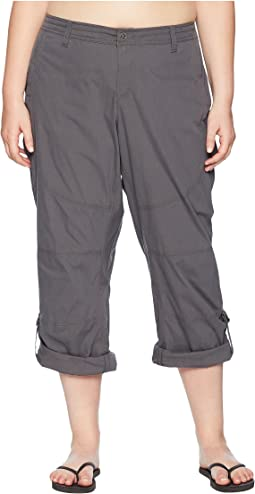 Plus Size Spire Roll-Up Pants