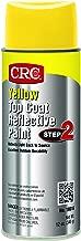 CRC 18016 Yellow Reflective Paint - Top Coat, 12 WT oz, 16 fl. oz. Aerosol