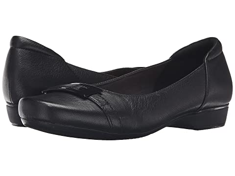 Clarks Blanche West Black Leather 8723261
