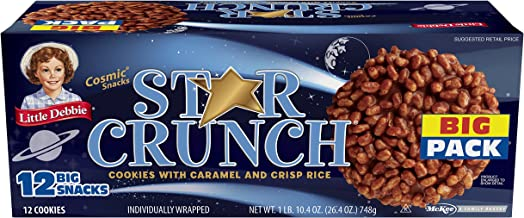 Little Debbie Star Crunch Big Box, (3 Boxes)