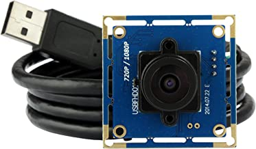 ELP USB with Camera 2.1mm Lens 1080p Hd Free Driver USB Camera Module,2.0 Megapixel(1080p) USB Camera,for Linux Windows Android Mac Os