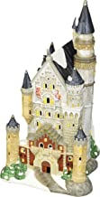 """Department 56 Alpine Village Neuschwanstein Castle Light House, 12"""""""