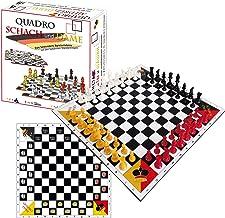 SchachQueen QuadroChess and Checkers - Ajedrez y Damas para 4 personas