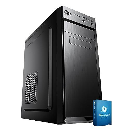 PC DESKTOP COMPUTER FISSO▬SSD E LICENZA WINDOWS 7 PRO▬ASSEMBLATO COMPLETO Intel QUAD-CORE fino a 2.3 GHZ▬RAM 8GB▬SSD + HD 1TB▬DILC GREEN HIGH
