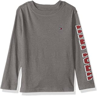 Tommy Hilfiger Boys' Dustin-Bex Jersey Long Sleeve Tee
