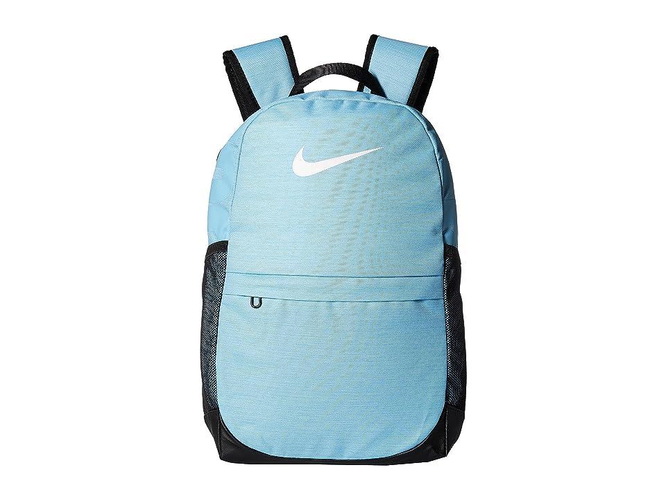 Nike Kids Brasilia Backpack (Little Kids/Big Kids) (Blue Chill/Black/White) Backpack Bags
