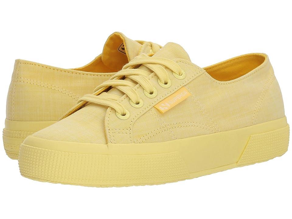 Superga 2750 Cottonmelangeu Sneaker (Yellow) Women