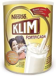 Nestle KLIM Fortificada Dry Whole Milk Powder 56.3 oz. Canister