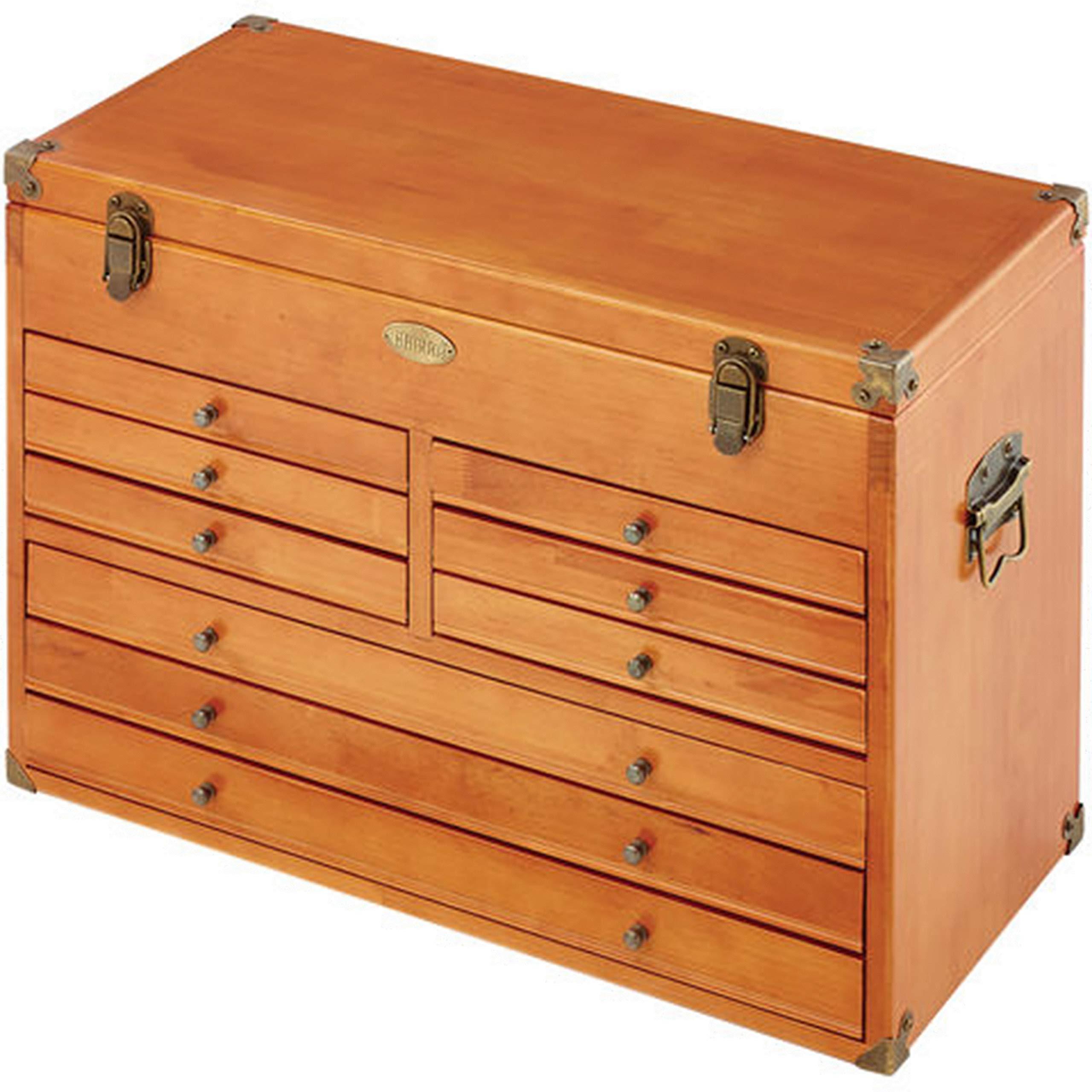 Caja de herramientas es de madera Clarke maquinista - CMW-9: Amazon.es: Bricolaje y herramientas