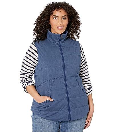 Marmot Plus Size Visita Insulated Vest (Arctic Navy Heather) Women