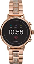 Fossil Women's Gen 4 Venture HR Stainless Steel Touchscreen Smartwatch with Heart..