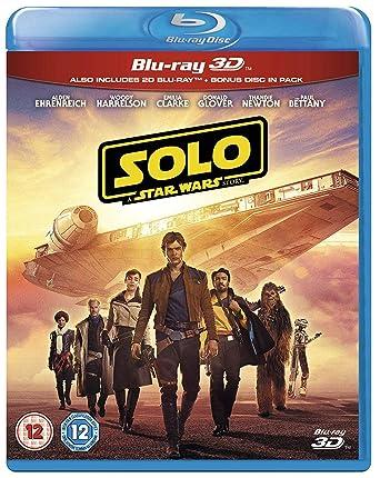 Solo: A Star Wars Story [3D Blu-ray + Blu-ray]