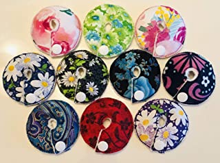 Cutie Button Pads Gtube Pads 10 Pack Flowers