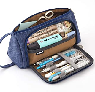 EASTHILL Medium Capacity Pencil Case Multi-Slot Pen Bag Pouch Holder for Middle High School Office College Girl Adult Simp...
