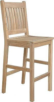 Anderson Teak Avalon Bar Chair, Dupione Galaxy