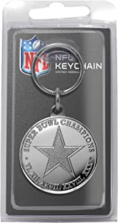 NFL Dallas Cowboys 5-Time Super Bowl Champions Minted Coin Keychain, 8