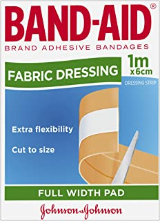 Band-Aid Fabric Dressing Strip 6cmx1m Count