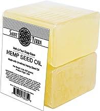 Saint Terra - Hemp Seed Oil Melt and Pour Soap Base, 2 Pounds