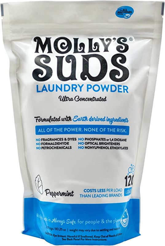 Molly S Suds Original Laundry Detergent Powder 120 Load Natural Laundry Soap For Sensitive Skin
