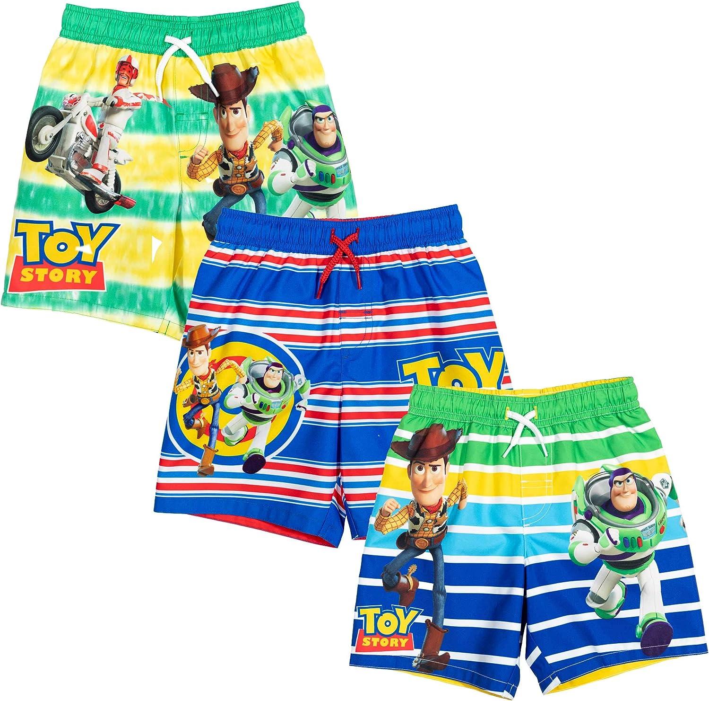 Max 83% OFF Disney Pixar Toy Popularity Story Buzz Lightyear 3 B Woody Pack Swim Trunks