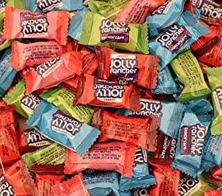 LaetaFood Pack, Jolly Rancher Crunch N' Chew Assorted Original Flavors Candy (3 Pounds Bulk)