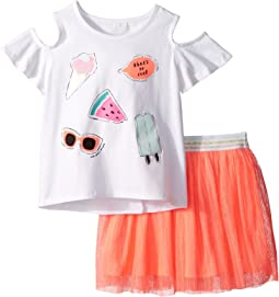 Kate Spade New York Kids So Cool Skirt Set (Toddler/Little Kids)