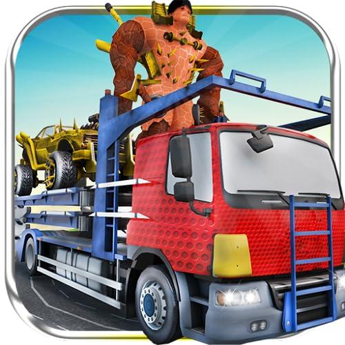 araña transporte monstruo camión
