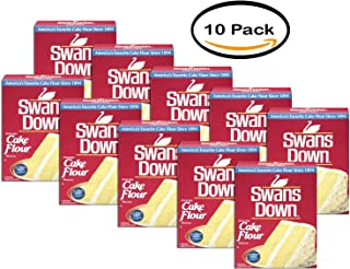 PACK OF 10 - Swans Down Enriched, Bleached Cake Flour, 32 oz
