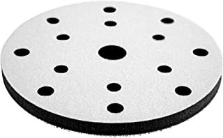 CHEN REFINISH Premium Quality 10mm Think Double Sided DA Polisher and Sander Interface Pad (Holes, 6 Inch)