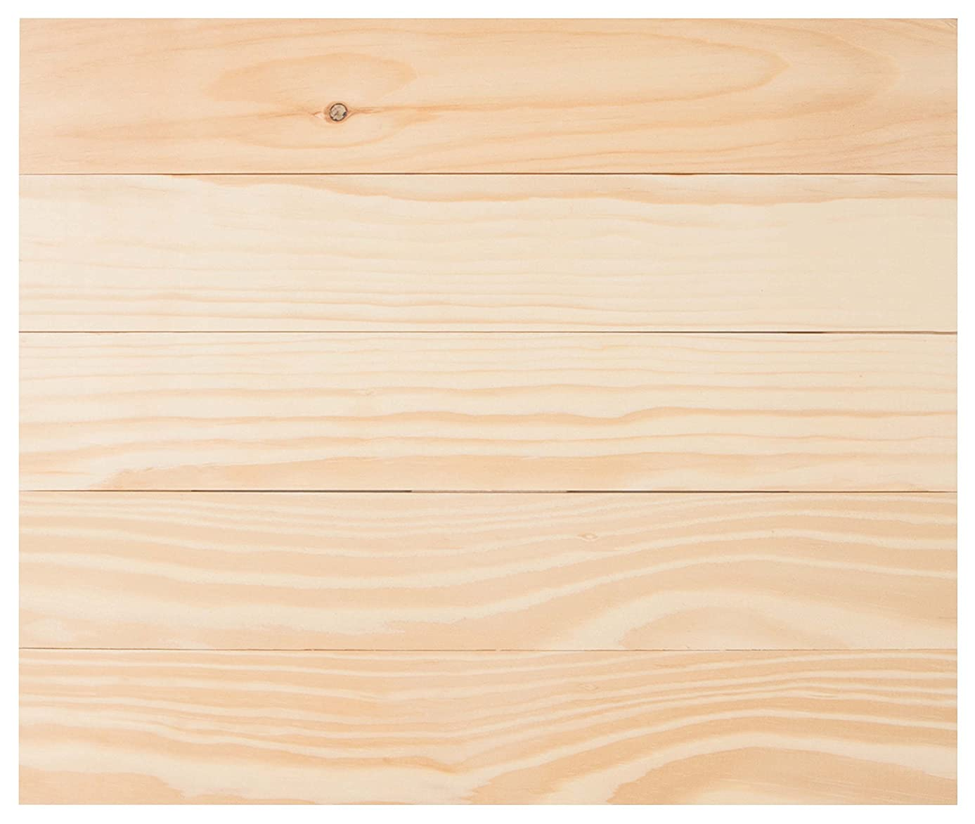 Natural Wood Finish 17.5 x 21 Inch Pine Wood Craft Pallet