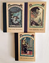 3 Books! A Series of Unfortunate Events (Vol. 3-5) The Wide Window, The Miserable Mill, The Austere Academy