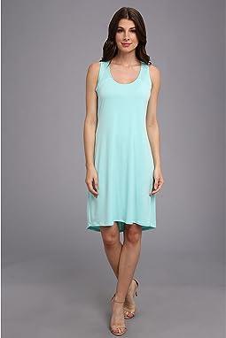 S/L High-Low Shirt Matte Jersey  Dress