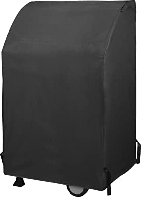 Unicook Heavy Duty Waterproof 2 Burner Gas Grill Cover, 32-Inch Square BBQ Cover, Small Space Grill Cover, Fade Resistant, Fit Grills with Collapsed Side Tables for Weber Char-Broil Dyna-Glo and More