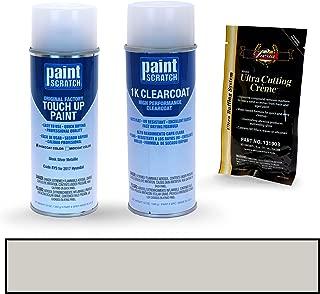 PAINTSCRATCH Sleek Silver Metallic RYS for 2017 Hyundai i10 - Touch Up Paint Spray Can Kit - Original Factory OEM Automotive Paint - Color Match Guaranteed