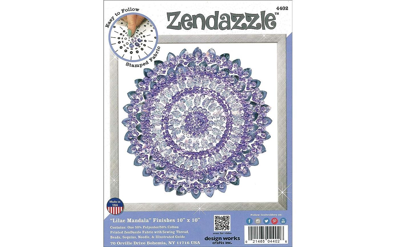 Tobin 4402 Design Works Zendazzle Stamped Needleart Kit, Multicolor