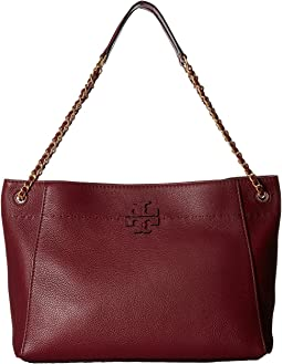 Tory Burch - McGraw Chain-Shoulder Slouchy Tote