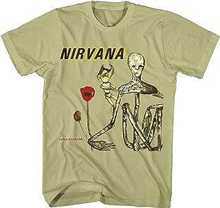 Nirvana Incesticide Green Mens T-Shirt, XL