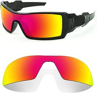 Littlebird4 1.5mm Polarized Replacement Lenses for Oakley Oil Rig Sunglasses - Multiple Options