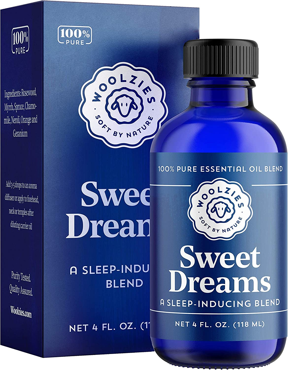 Woolzies Discount mail order Sweet Dreams Essential Oil F Sleep Better Blend Free Shipping New Helps