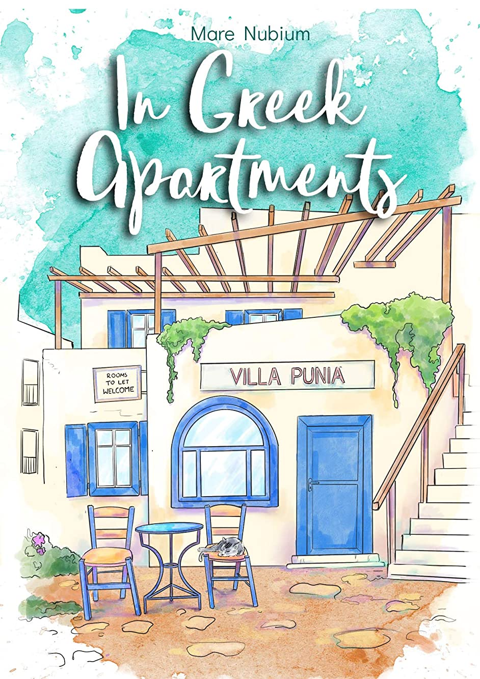 スケジュール放送助けてIn Greek Apartments (English Edition)