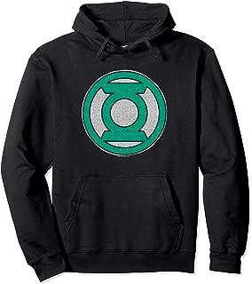 Green Lantern Hand Me Down Black Pullover Hoodie