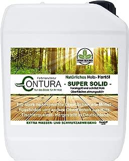 5 Liter Holzschutz Holzöl NATUR HARTÖL Möbelöl Pflegeöl Holz- Möbel- Öl Arbeitsplattenöl