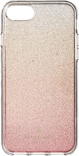 ac75147f3 Pink Glitter Ombre Phone Case for iPhone® 7/iPhone®. Like 38. Kate  Spade New York