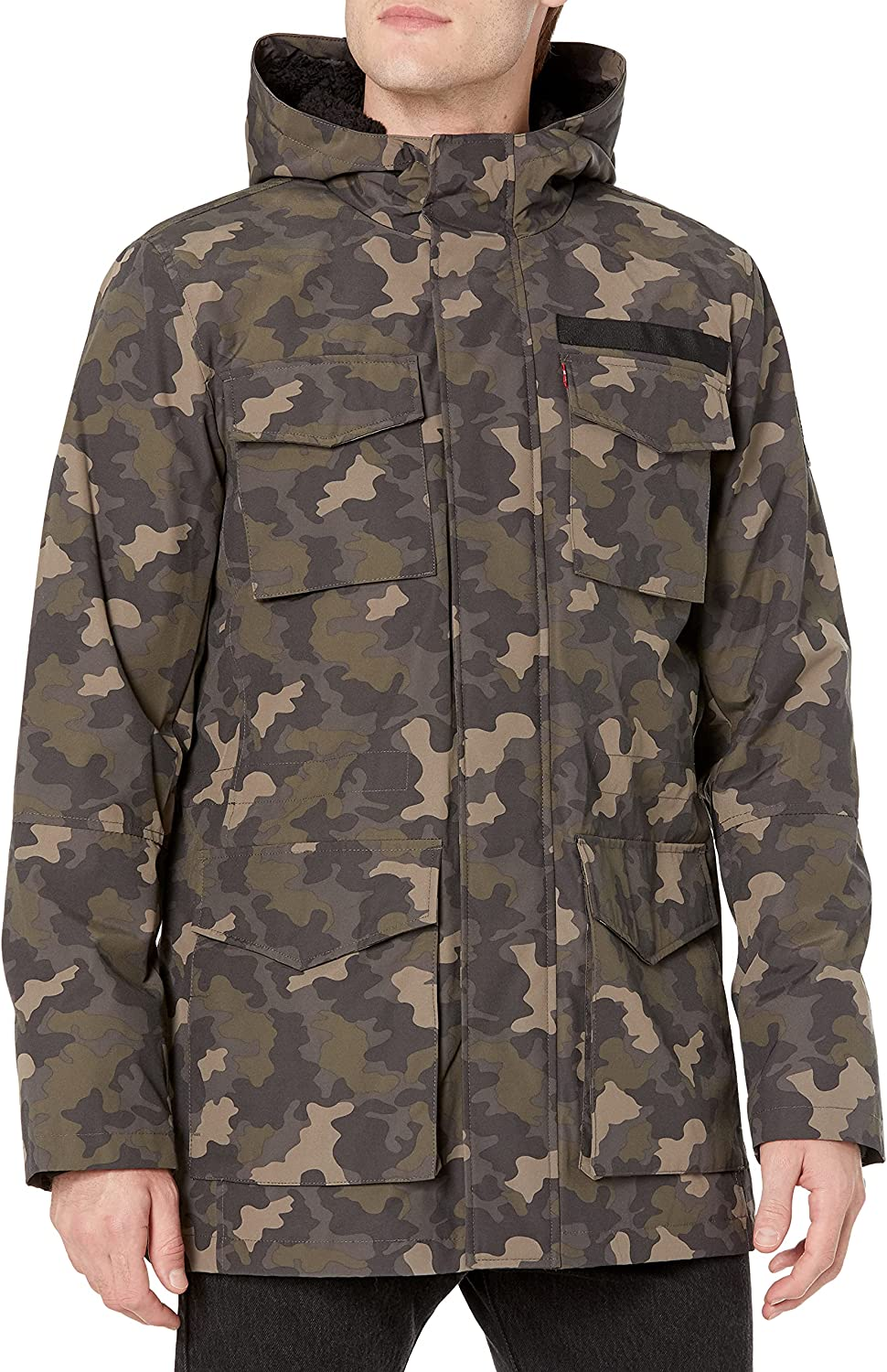 Levi's Men's Arctic Cloth Some Year-end gift reservation Lined Sherpa Parka