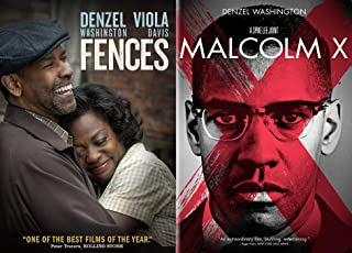 Denzel's Greatest Hits Vol 5: Fences + Malcolm X (2 DVD Bundle Feature Film pack) Denzel Washington