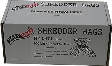 RY SAFEWRAP SHREDDER BAGS 100 LITRE PK50
