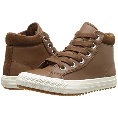 Converse Kids Chuck Taylor(r) All Star(r) Pc Boot Hi (Little Kid/Big Kid) (Chestnut Brown/Burnt Caramel/Chestnut Brown) Boy