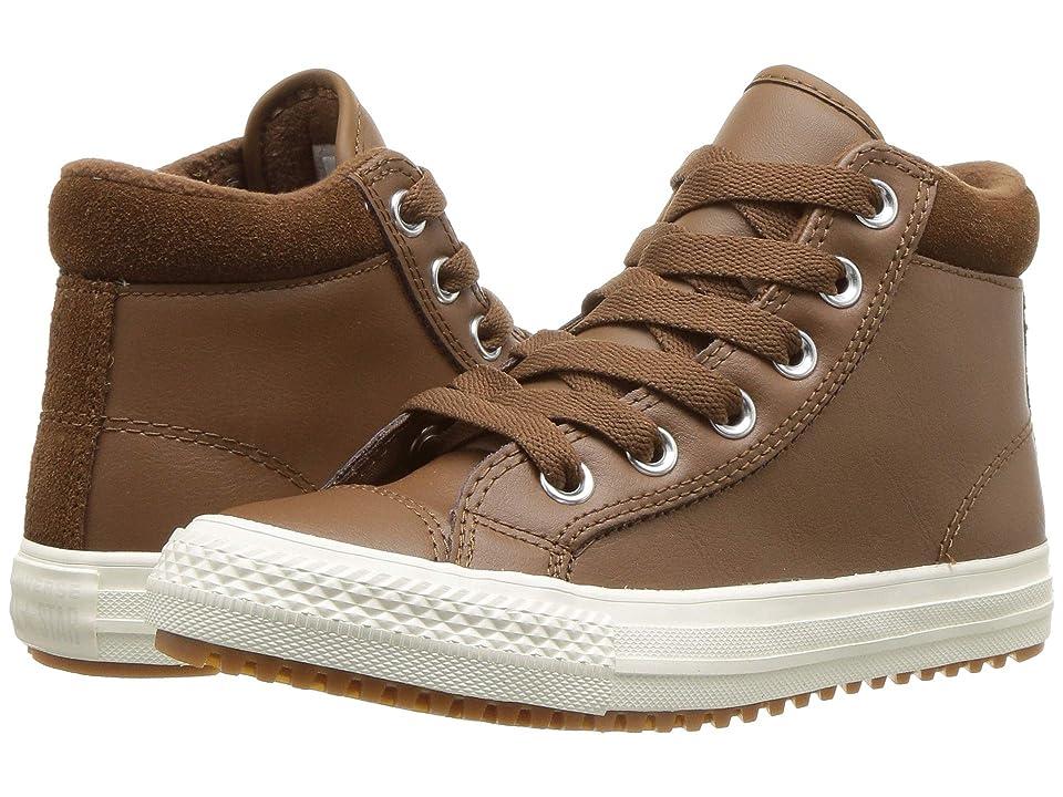 Converse Kids Chuck Taylor(r) All Star(r) Pc Boot Hi (Little Kid/Big Kid) (Chestnut Brown/Burnt Caramel/Chestnut Brown) Boy